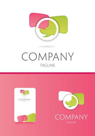 network logo: Communication logo