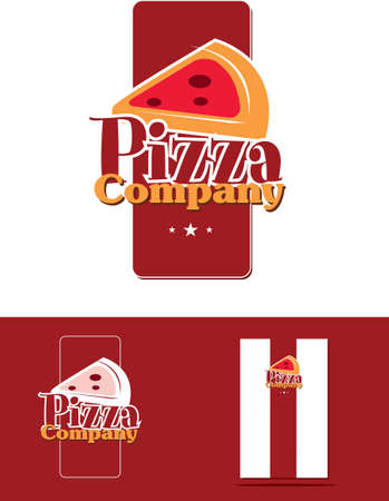 pizza corporate identity Stock Vector - 14304255