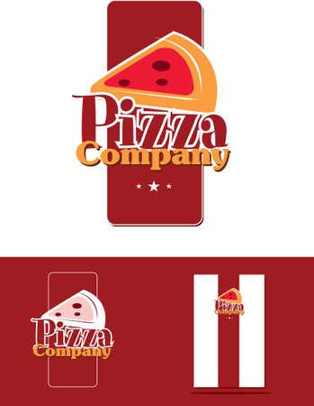 pizza corporate identity Stock Vector - 14304255