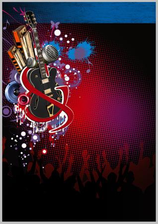 blues & rock poster