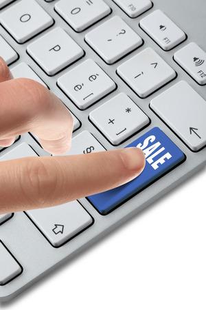 keyboard_button_choise Stock Photo