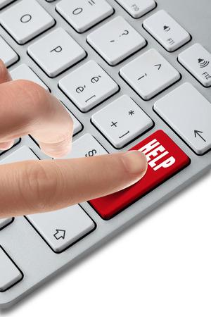 keyboard button choose Archivio Fotografico