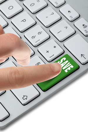 keyboard button choice Stock Photo - 27955423