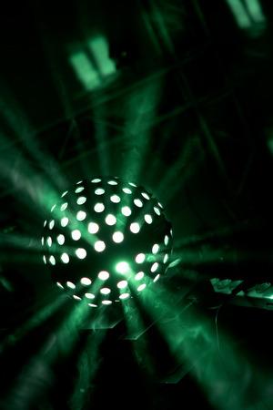 ligh beam disco Stock Photo