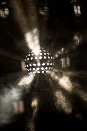 ligh: ligh beam disco Stock Photo
