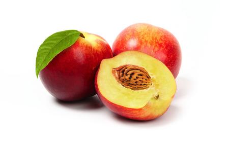 peach still life Stock Photo