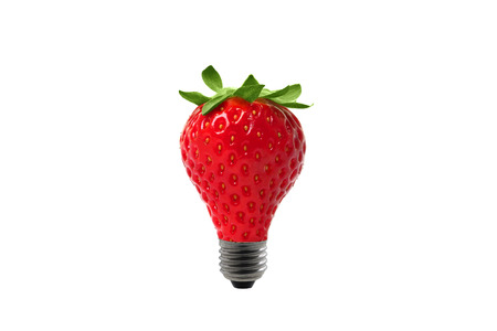 strawberry bulb shape