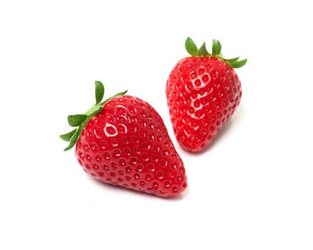 strawberry still life Stock Photo
