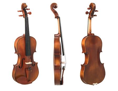 violin three view