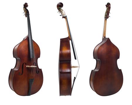cello: cello three view Stock Photo