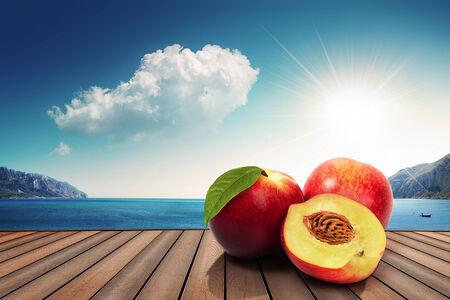 peaches on the harbor