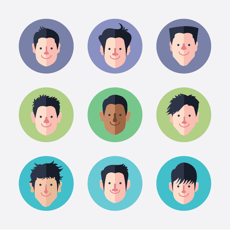 maketing: set of avatar icons
