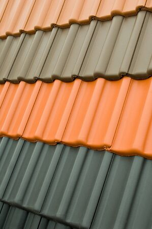 artisanry: Color sample of roof tiles