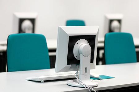salle classe: Salle de classe informatique