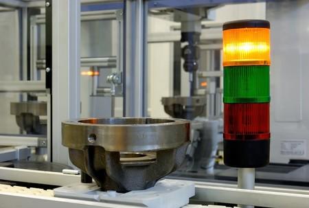 linea de produccion: Verificaci�n de la calidad en una l�nea de producci�n