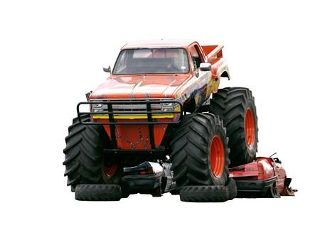 pesantezza: Si � schiantato Bigfoot di due automobili