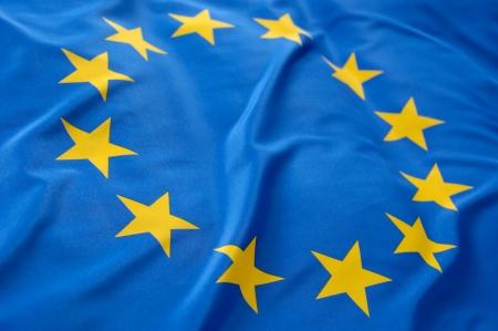 유럽의: 유럽 플래그 스톡 사진