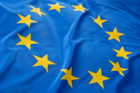 european community: European flag Stock Photo