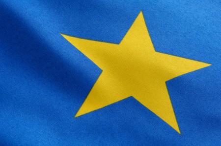 flagging: Star of a european flag