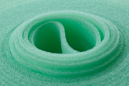 thermal insulation: Rolled insulation mat