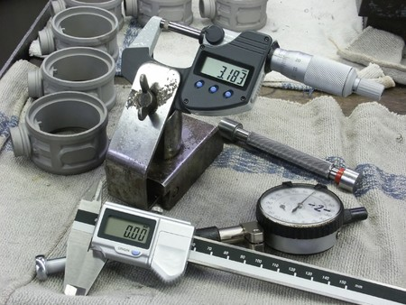 quality control: Manual measuring instruments