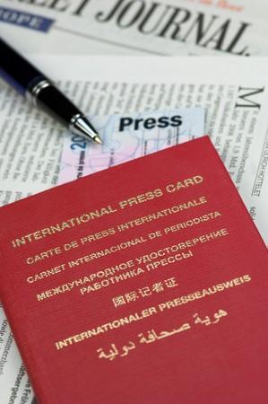 legitimize: International press card