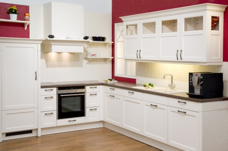 Modern fitted kitchen Stock Photo - 8060416