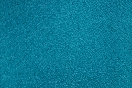 Leather texture turquoise photo