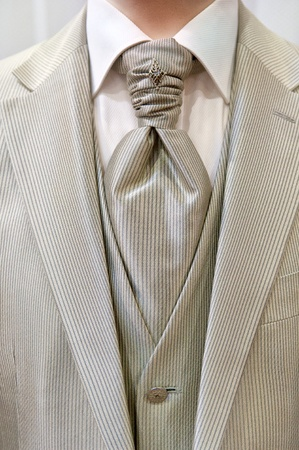 Wedding suit Stock Photo