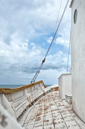 Ship Deck Stock Photo - 8833695