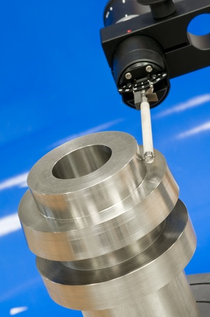 thorough: Form measuring instrument Stock Photo