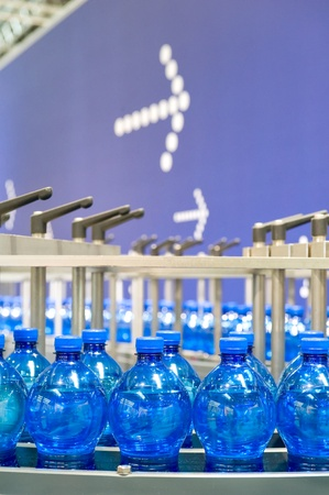 Bottling plant Standard-Bild
