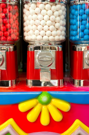 Bubble gum machine photo