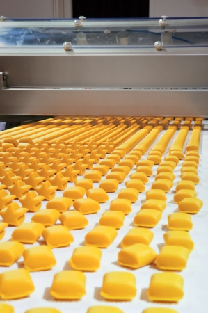 Production of biscuits