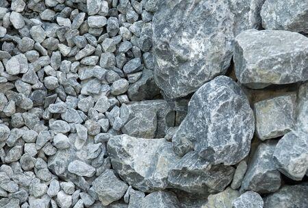 Gray stones photo