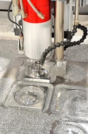 CNC-milling Standard-Bild