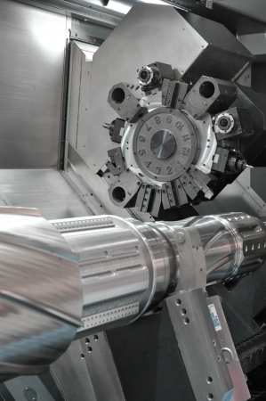 Lathe, CNC milling Stock Photo - 14756733