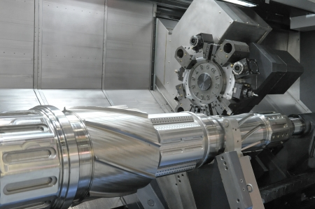Lathe, CNC milling Stock Photo - 14756734