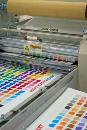 Printing machine Stock Photo - 14757205