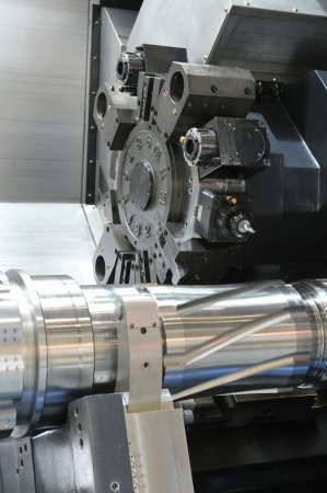 döndürme: Torna, CNC freze