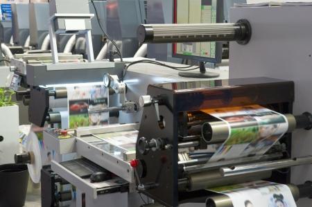 maschinen: Druckmaschine Lizenzfreie Bilder
