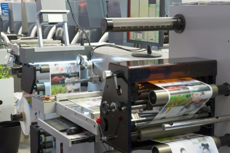 Printing machine Stock Photo - 15660422