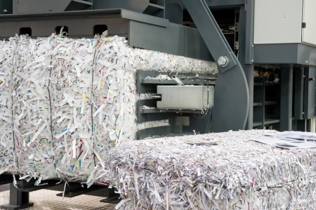 shred: Paper strips