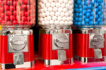 Bubble gum machine Stock Photo - 15791024