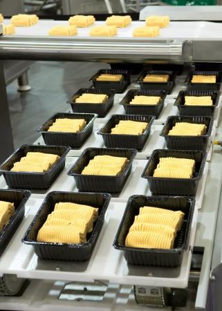 Industrial food production Archivio Fotografico