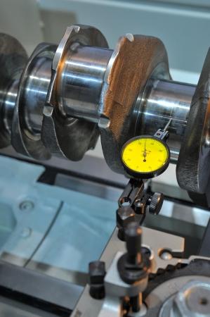crankshaft: Examination of a crankshaft