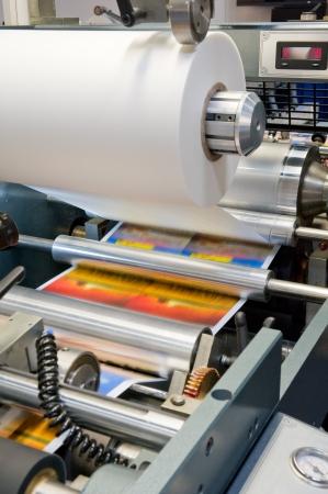 imprenta: Máquina de impresión