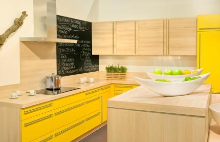 Modern fitted kitchen photo