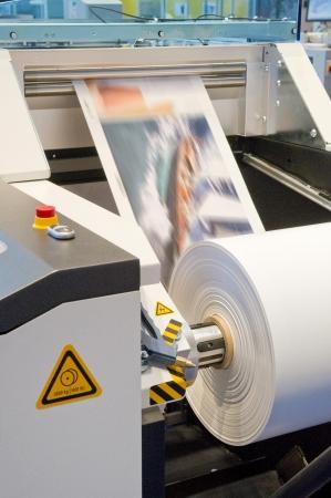 Printing machine Archivio Fotografico