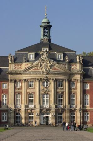 munster: Castle university in Munster, Germany.